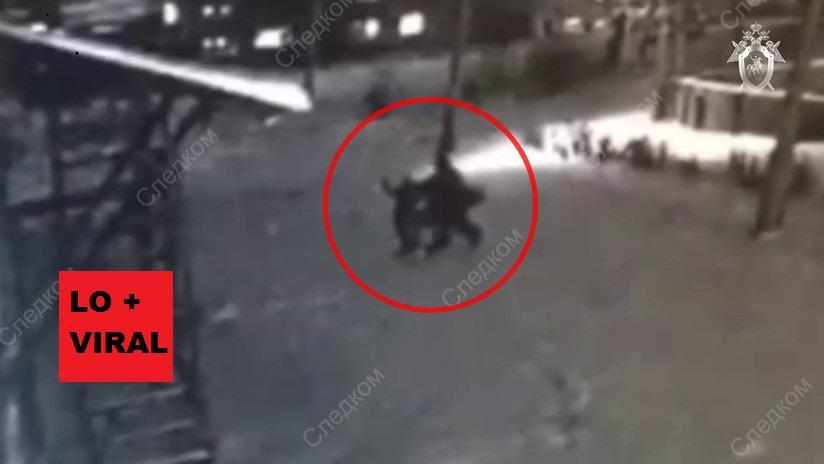 VÍDEO: Una niña de 10 años se salva de ser violada por un pedófilo que la asaltó en plenacalle