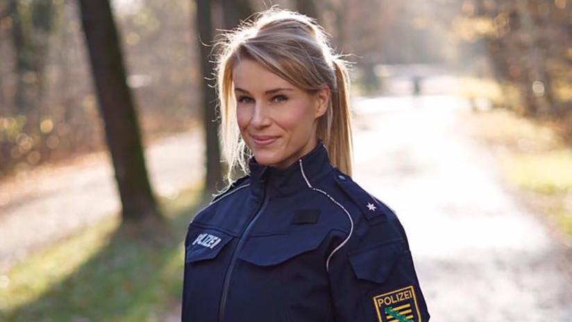El jefe de 'La policía más guapa de Alemania' le hace elegir entre Instagram o seguir con sutrabajo